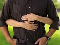 Kærlighed kram - Mand og kvinde